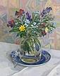Diana Calvert (British, born 1941) Flowers in a vase, Diana Calvert, Click for value