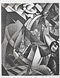 Christopher Richard Wynne Nevinson A.R.A. (British, 1889-1946) Bomber The very rare lithograph, 1918, on laid Antique de luxe paper, signed and dated in pencil, with margins, 429 x 265mm (17 x 10 1/2in)(SH), Christopher Richard Nevinson, Click for value