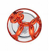 JEFF KOONS (AMERICAN, BORN 1955)   Balloon Dog (Red)