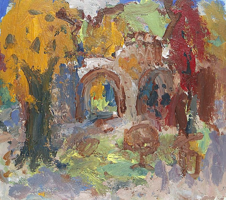 Julian Bailey (British, born 1963) Holland Park, Autumn