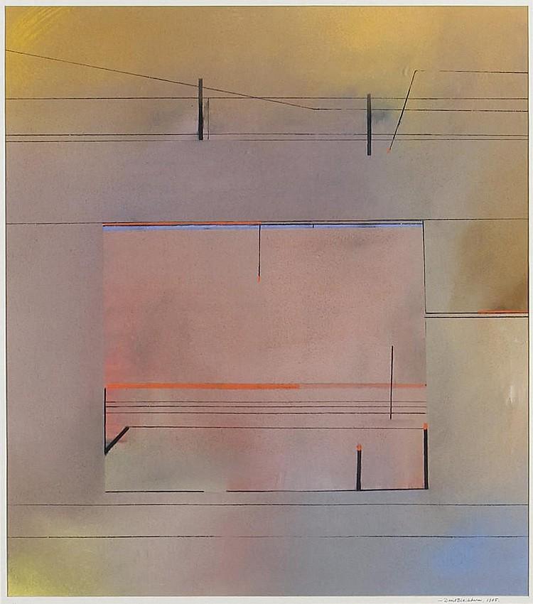David Blackburn (British, born 1939) 'Music'