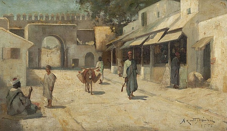 James Coutts Michie (British, 1861-1919) Tangier