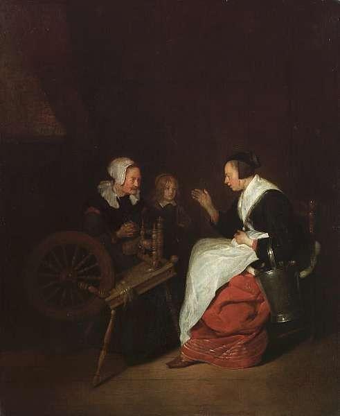 Quiringh Gerritsz. van Brekelenkam (Swammerdam circa 1620-1668 Leiden)