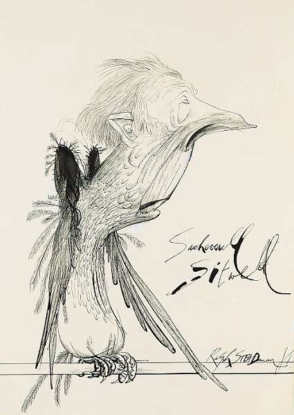 SITWELL, <i>Sir</i> SACHEVERELL, (1897-1988, <i>poet and author, C.H.</i>)