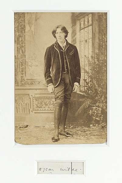 WILDE, OSCAR (<i>1854-1900, poet and playwright</i>)