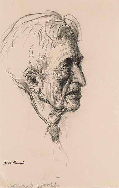 WOOLF, LEONARD (<i>1880-1964, novelist, publisher, journalist, husband of Virginia Woolf</i>)