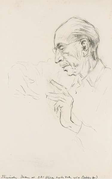 STRAVINSKY, IGOR (<i>1882-1971, Russian composer and conductor</i>)
