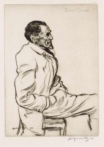 CONRAD, JOSEPH (<i>1857-1924, novelist</i>)