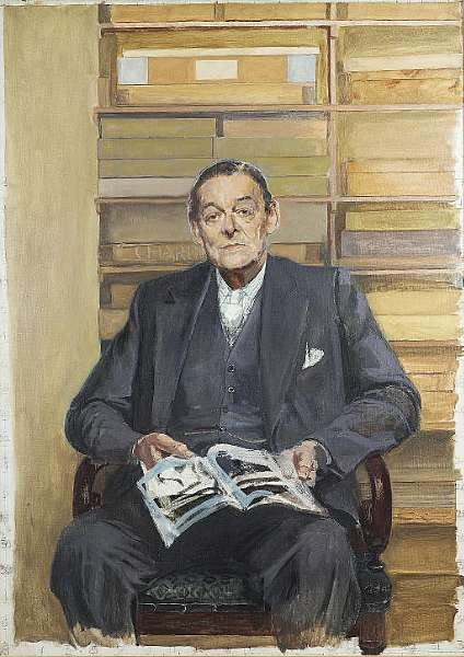 ELIOT, THOMAS STEARNS, (<i>1888-1965, American-born poet and literary critic, Nobel Prize winner for Literature, O.M.</i>)