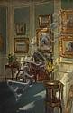 Patrick William Adam, RSA (British, 1854-1929) The picture wall, Patrick William Adam, Click for value