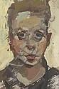 Alison Watt ARSA (British, 1965) Self Portrait, Alison Watt, Click for value