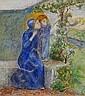 Elizabeth Siddal (British, 1834-1862) Madonna and child