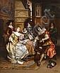 Cesare Auguste Detti (Italian, 1847-1914) The final rehearsal, Cesare Augusto Detti, Click for value