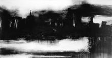 John Virtue (British, born 1947) Landscape 849 (unframed)