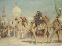 Mario Moretti Foggia (Italian, 1882-1954) Alle tombe dei califfi