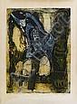 Bruce Onobrakpeya (Nigerian, born 1932) Spirits: a set of six deep relief etchings unframed, Bruce Onobrakpeya, Click for value