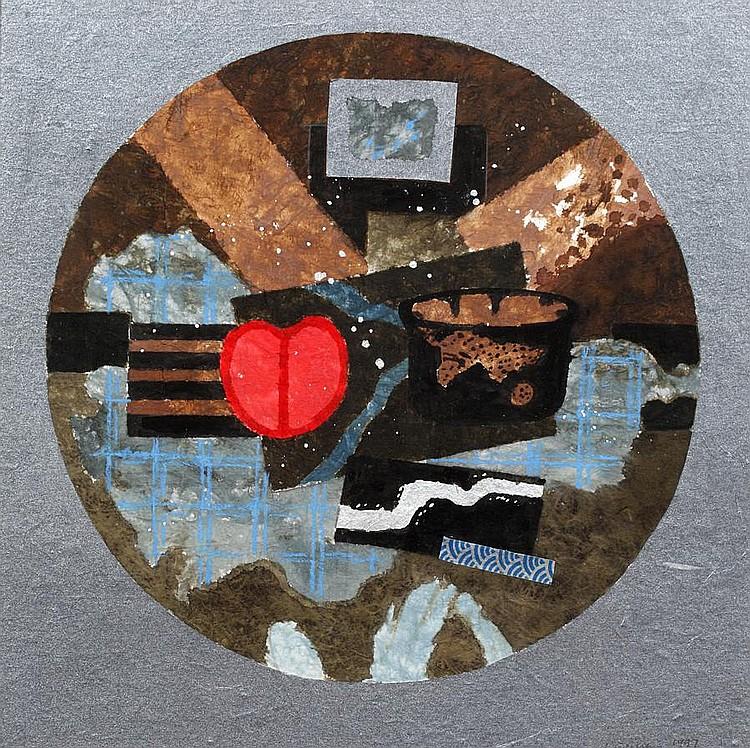 William M. Littlejohn (Scottish, born 1929) Still life rondo 1997