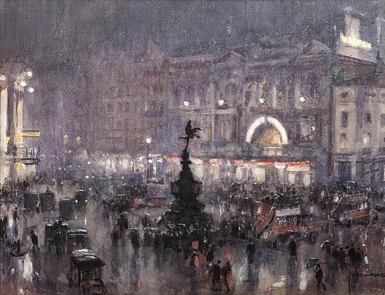 Cecil George Charles King (British, 1881-1942) Piccadilly