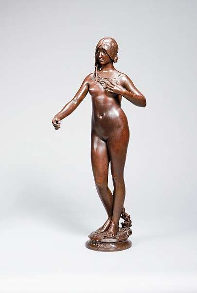 Jean Antonine Carles (French, 1851-1919): A bronze of 'La Jeunesse'