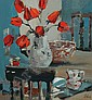 Ethel Walker (British, 1941) Tulips and chairs, Ethel Walker, Click for value