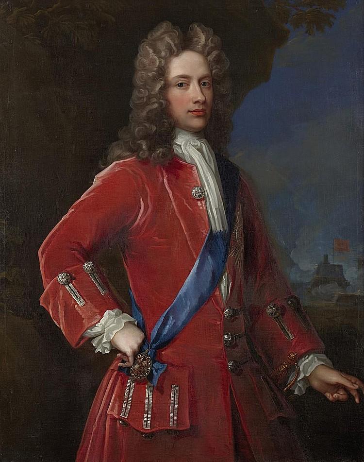 William Aikman (British, 1682-1731) John, 2nd Duke of Argyll and Duke of Greenwich (1680-1743) 120.6 x 96.4 cm. (47 1/2 x 37 15/16 in.)