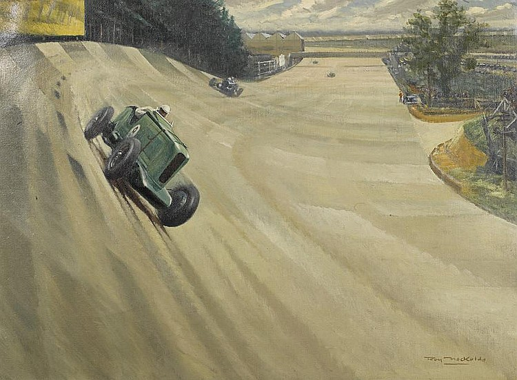Roy Nockolds (1911-1980): 'Talbot at Brooklands',