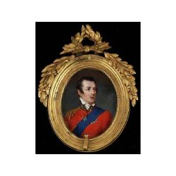 Simon Jacques Rochard (French, 1788-1872) An Important portrait of Arthur Wellesley, first Duke of