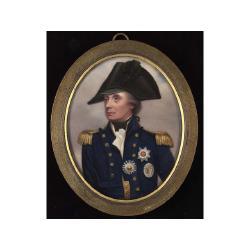 Henry Bone, R.A. (British, 1755-1834) after Arthur William Devis (1763-1822) Horatio 1st Viscount