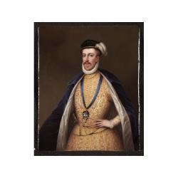 Henry Bone, R.A. (British, 1755-1834) An impressive portrait of Thomas Howard K.G. K.B., 4th Duke