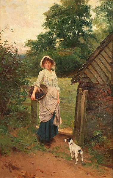 Carlton Alfred Smith, RI, RBA, ROI (British 1853-1946)