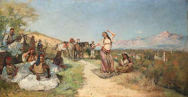 Waclaw Pawliszak (Polish 1866-1905)