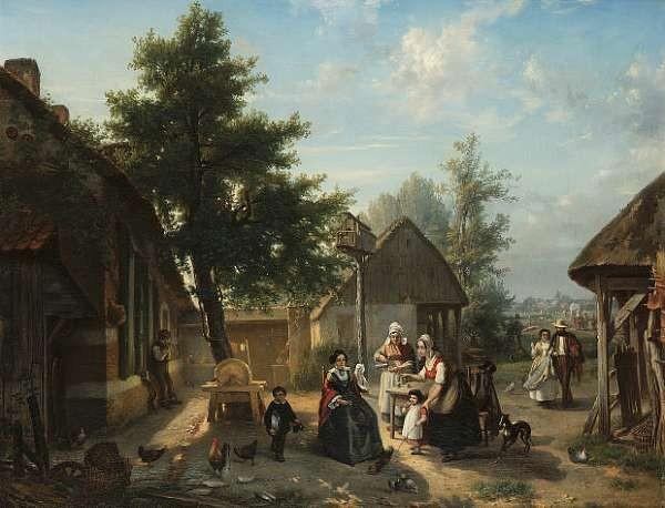 Florent Crabeels (Belgian 1829-1896)