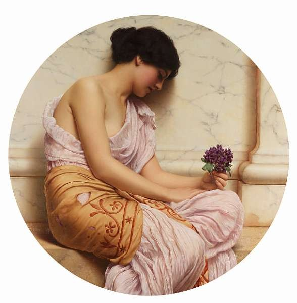 John William Godward, RBA (British 1861-1922)