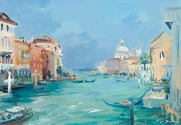 Peter Burman, (Contemporary) The Grand Canal Venice