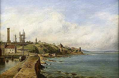 Samuel Edmonston (British, born 1825) View of St. Andrews