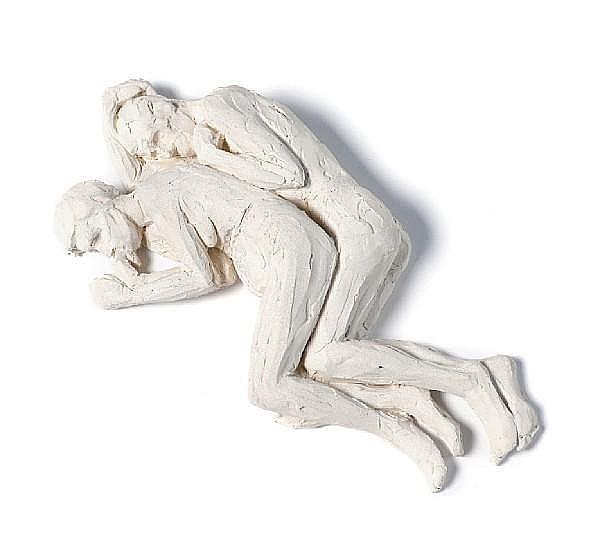 Ron Mueck (British, 1958) 'Spooning Couple', 2005