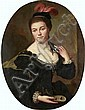 Circle of Jean-Baptiste Santerre (Magny-en-Vexin 1651-1717 Paris) Portrait of a lady,, Jean Baptiste Santerre, Click for value