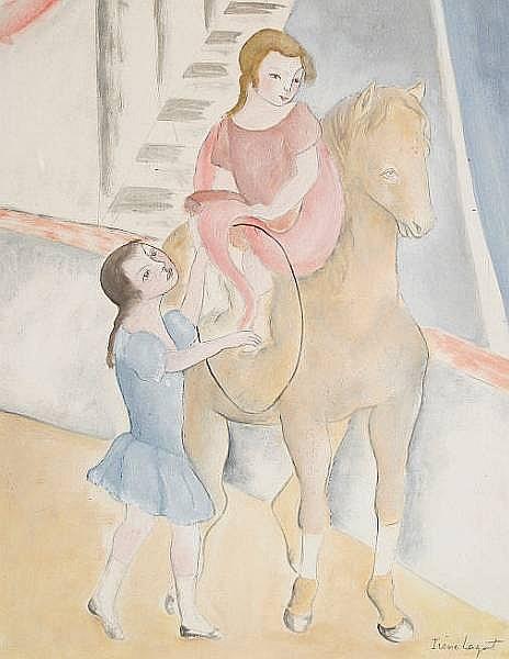 Irène Lagut (French, born 1893-?) The Circus
