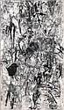Engelbert van Anderlecht (Belgian, 1918-1961) 'Fossiles', 1957, Englebert
