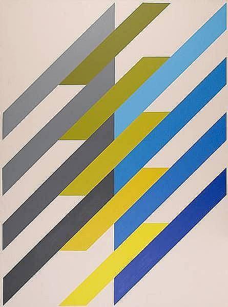 Anton Stankowski (German, 1906-1998) 'Shragsystem', 1988