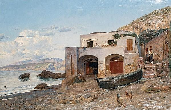 Godfred Polycarpus Christensen (Danish, 1845-1928) Capri