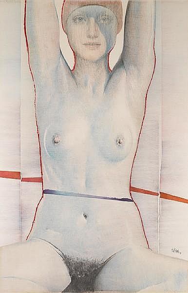 Pol Mara (Belgian, 1920-1998) 'Mon Petit Chaperon Rouge', 1975