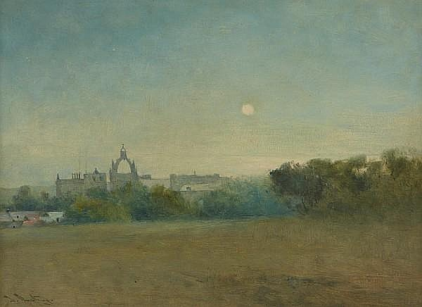 Thomas Bunting (British, 1851-1928) 'King's College Chapel Aberdeen'