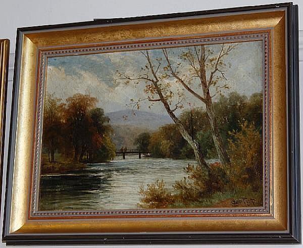 Charles Pigott River landscape