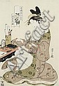 Chobunsai Eishi (1756-1829) Circa 1794/1795, Hosoda Eishi, Click for value