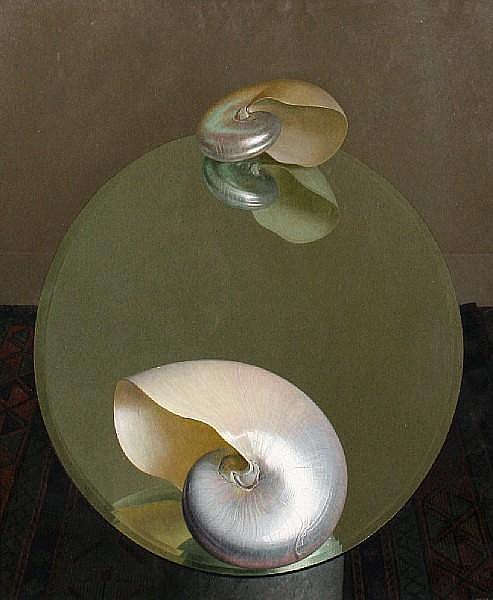 David Denby (born 1946) 'Two Shells'