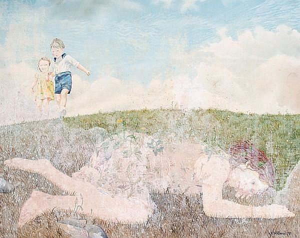 Kit Williams (British, born 1946) Flora