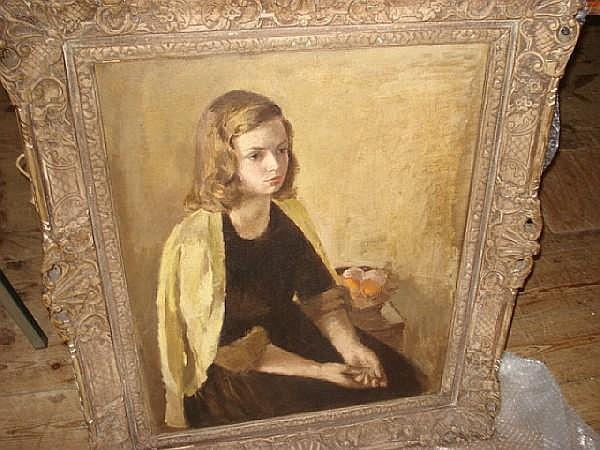 Maurice Field (1905-1988) Portrait of Elna Green
