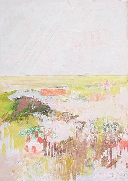 John Doubleday (British, born 1947) Landscapes at Tolleshunt D'Arcy 30 x 22cm (12 x 8 1/4in),