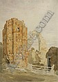Thomas Lound (British, 1802-1861) Castle Acre priory, Thomas Lound, Click for value